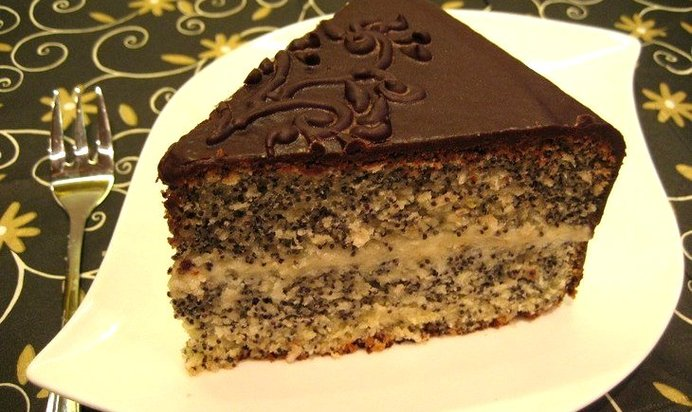 Рецепты макового торта с фото