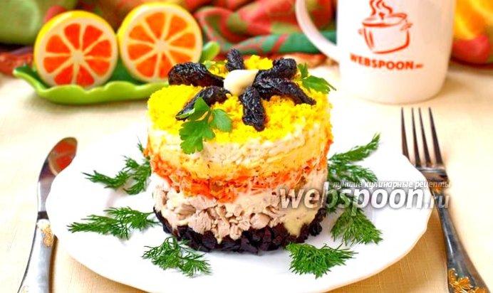 кулинария праздничные салаты фото рецепты по - шагово