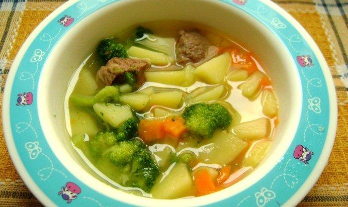 Суп с брокколи рецепт пошагово для детей