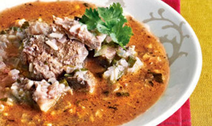 Харчо из баранины пошаговый рецепт с фото