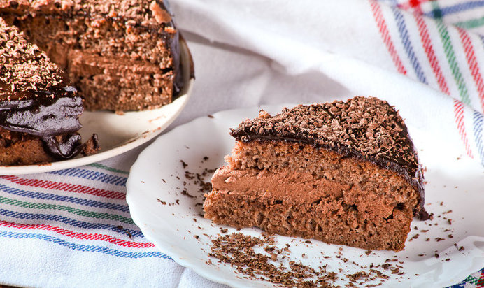 Шоколадный торт рецепты с фото пошагово