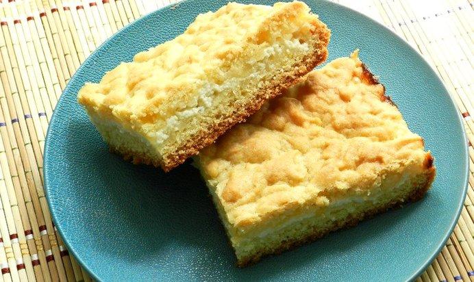 Простой пирог с творогом рецепт пошагово в духовке