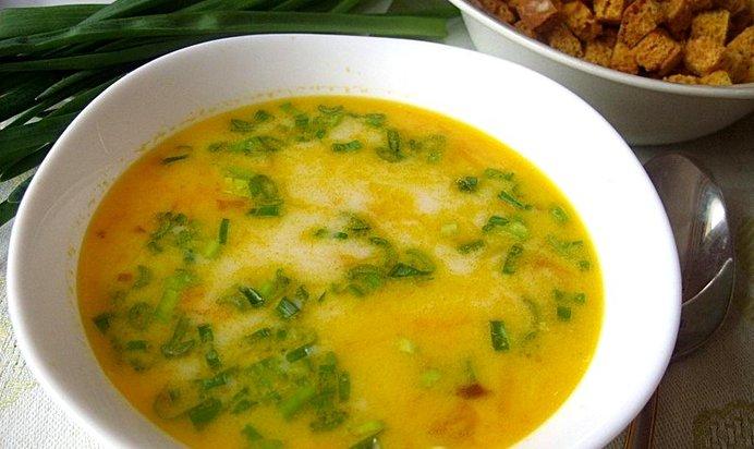 Супы рецепты с плавленым сыром