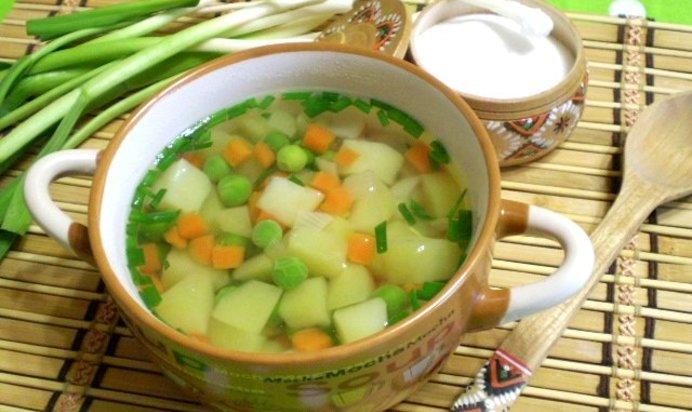 Овощные супы рецепты пошагово 19