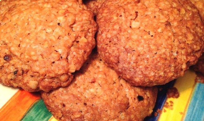 Овсяные печенья рецепт с фото без яиц