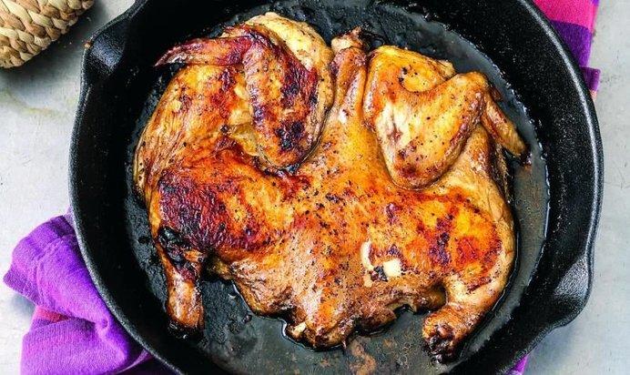 Цыплята табака рецепт в духовке пошаговый рецепт