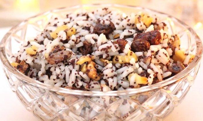 Кутья из риса с изюмом Поминальная  пошаговый рецепт с