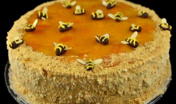 Медовый торт рецепт в домашних