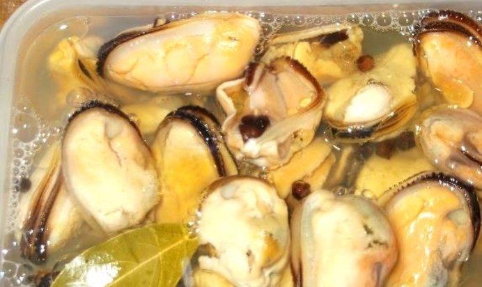 Маринованные мидии рецепт пошагово