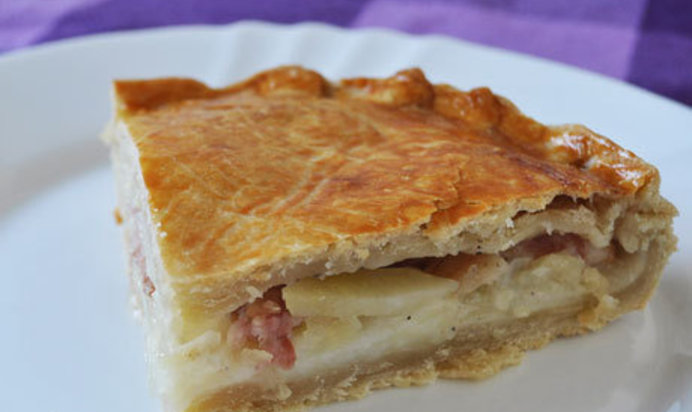 Рецепт пирог с картошкой фото