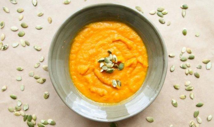 Тыквенный суп рецепт пошагово