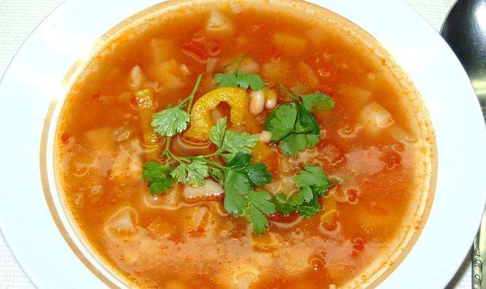 Вкусный фасолевый суп рецепт с фото