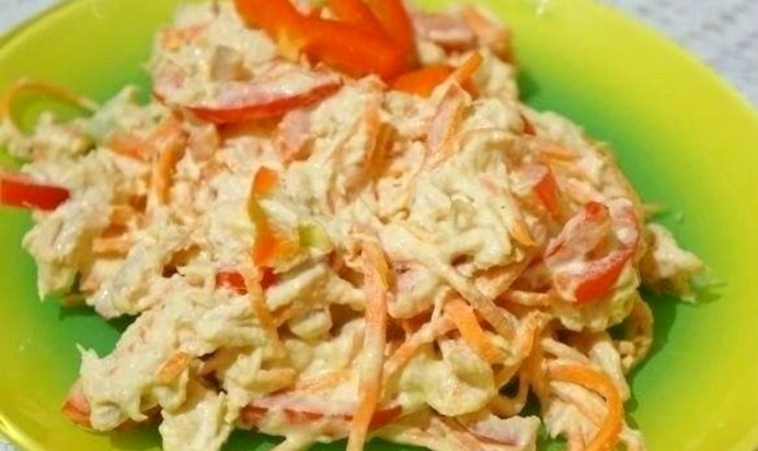 Морковь с курицей рецепты
