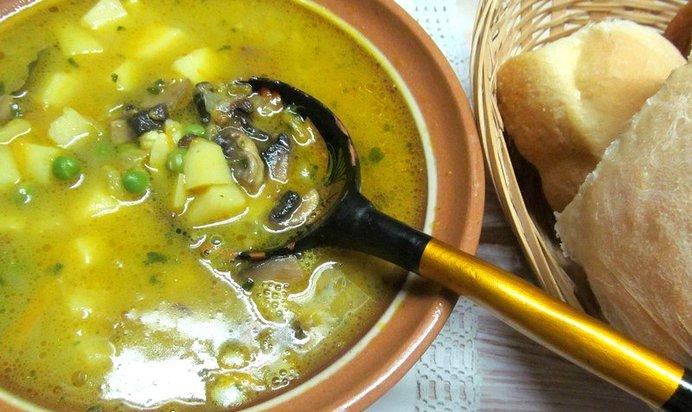 Как варить суп из шампиньоны