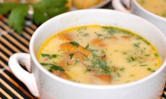 сырный суп с филе курицы рецепты