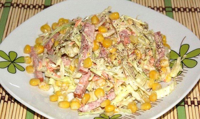 Соломка салат рецепт с