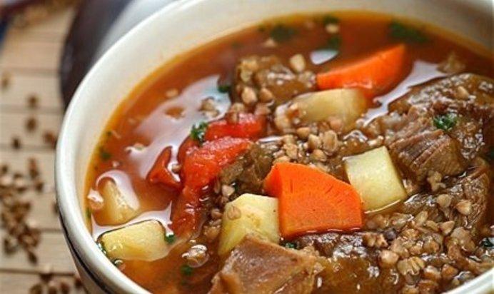 Гуляш из свинины с подливкой рецепт с пошагово с гречкой