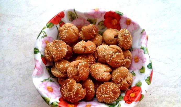 Кунжутное печенье рецепт с пошагово