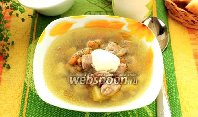 Суп из чечевицы в мультиварке рецепт с фото пошагово