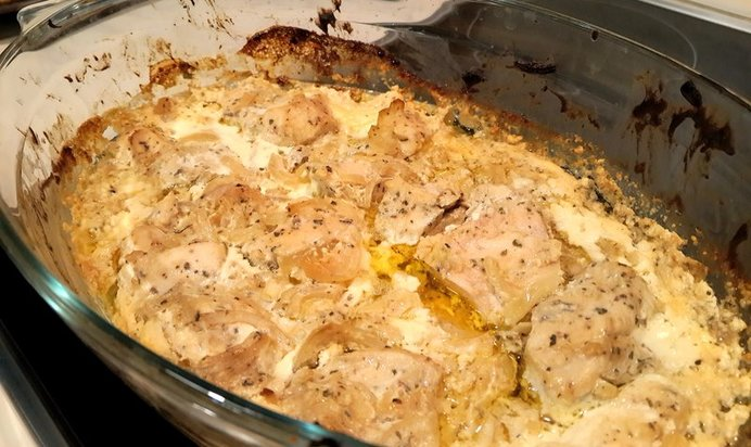 Филе курицы в сливках рецепт с фото