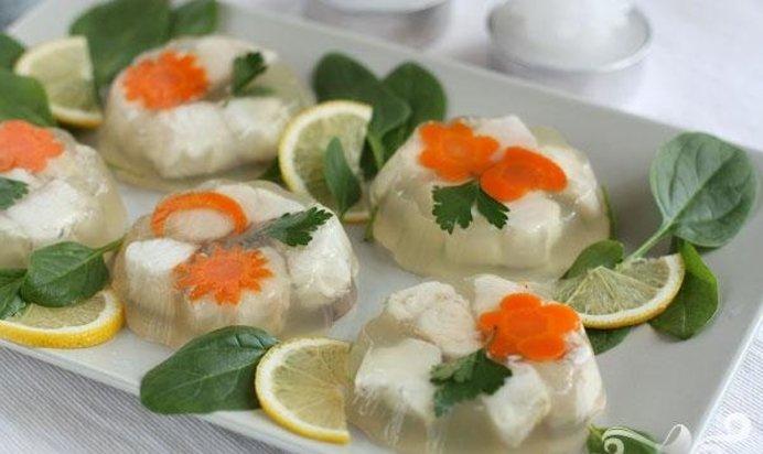 Рецепт рыбы заливной с пошагово в