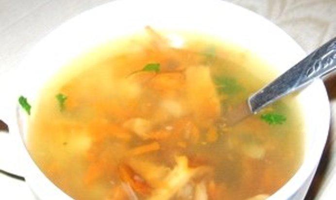 Суп из замороженных лисичек рецепты пошагово в