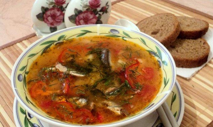 Рецепт щей с килькой в томатном соусе пошагово