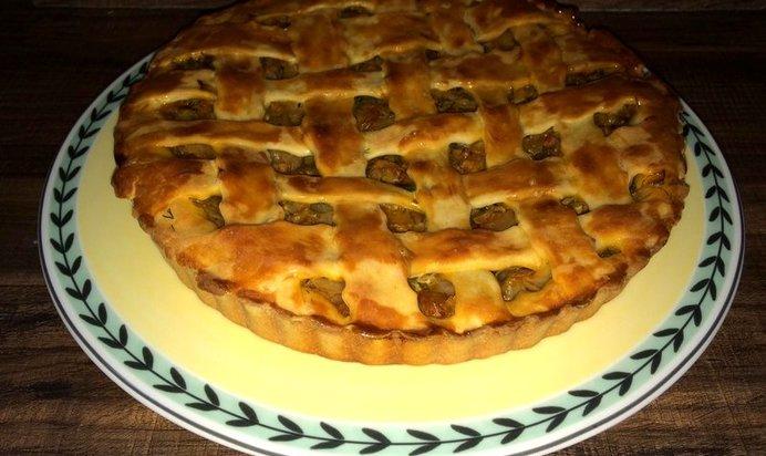 Рецепт пирога с капустой с на дрожжах