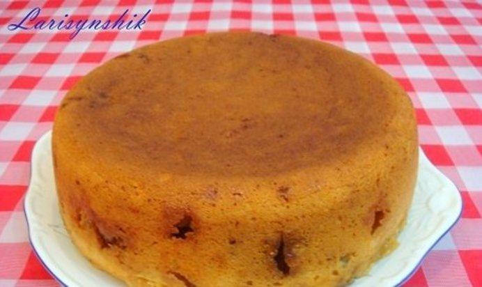 Бисквит с вишней в мультиварке рецепты с пошагово
