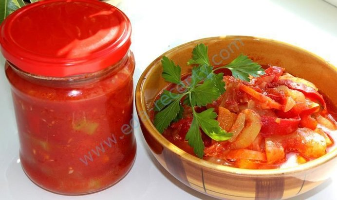 Лечо из кабачков и болгарского перца на зиму рецепты