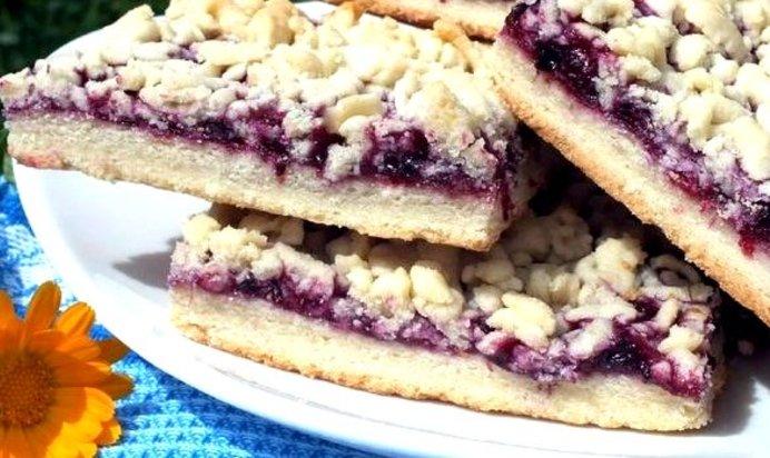 Печенье с вареньем и крошкой рецепт с пошагово