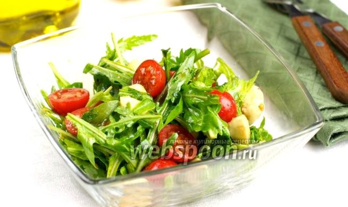 Салат из руколы рецепт