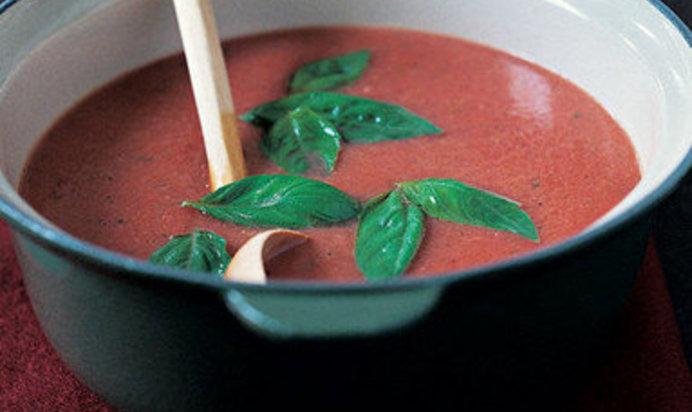 Томатный суп с базиликом рецепт пошагово с фото