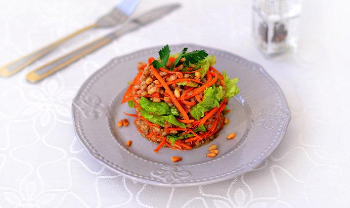 Салат из перловки рецепты простые и вкусные
