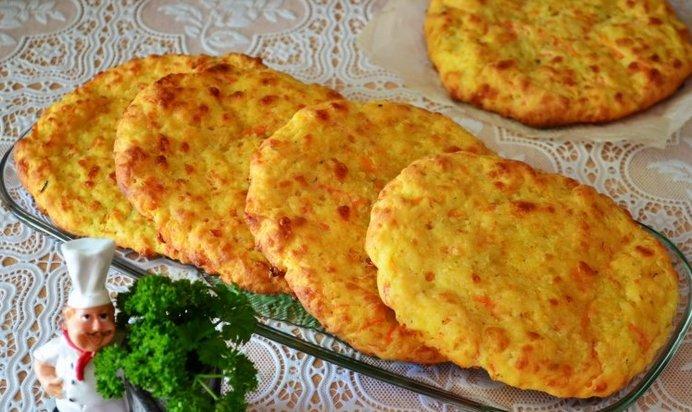 Сырные лепешки пошаговый рецепт с фото