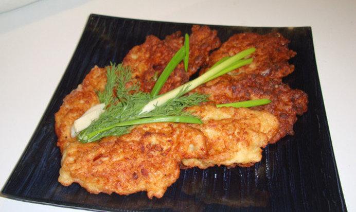 драники с куриной грудкой рецепт с фото