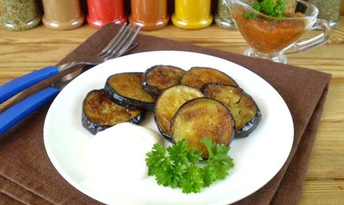 Баклажаны со сметаной рецепт с фото