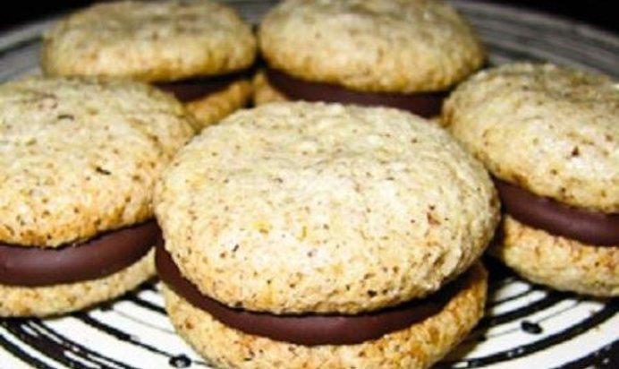 Печенье с шоколадом и орехами рецепт пошагово