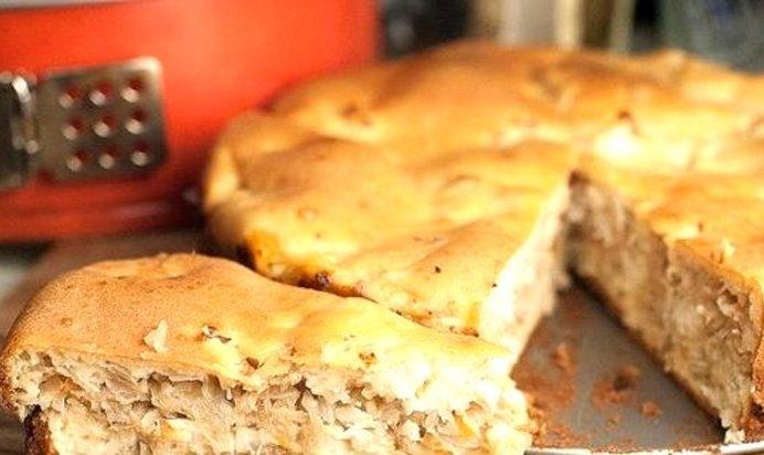 Пирог с кислой капустой рецепт с пошагово