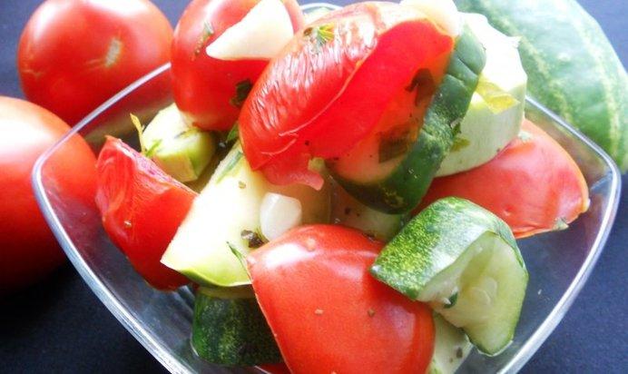 Овощные закуски в фото