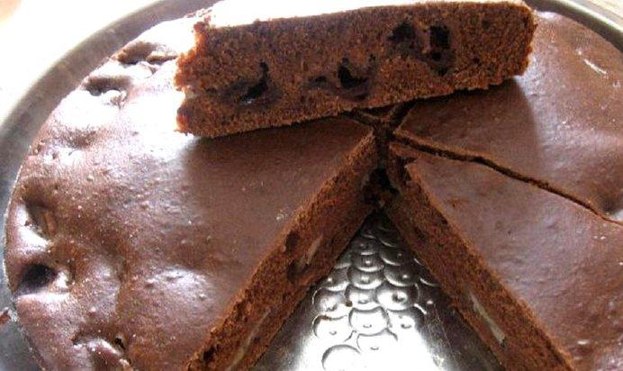 Рецепт пирога с шоколадом и вишней рецепт