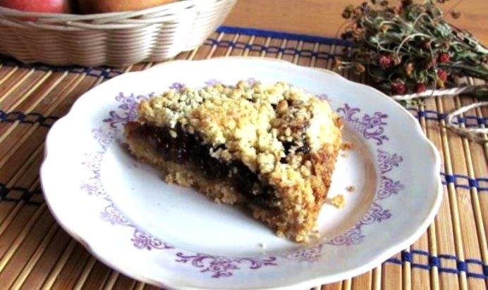 Пирог с грушевым вареньем рецепт с фото