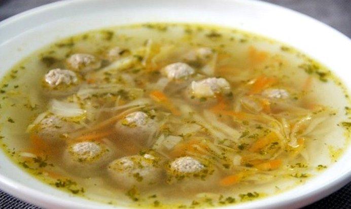 Суп с капустой с фрикадельками рецепт с пошагово