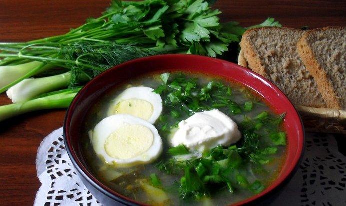 Рецепт щавелевого супа пошагово в