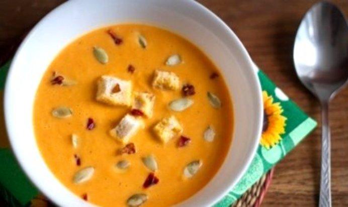 Суп из тыквы рецепты с фото пошагового приготовления